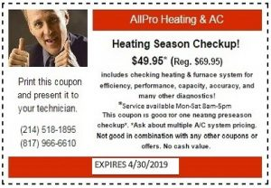 HEATING COUPON